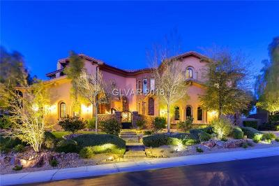 Henderson NV Single Family Home For Sale: $2,499,990