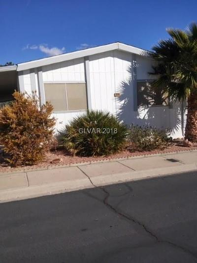 Las Vegas Single Family Home Contingent Offer: 3020 Gavilan Lane