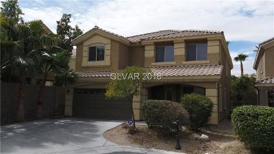 Las Vegas Single Family Home For Sale: 399 Blue Tee Court