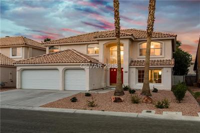 Las Vegas Single Family Home For Sale: 3664 Dorrington Drive