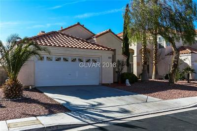 Las Vegas Single Family Home For Sale: 3845 Willowview Court