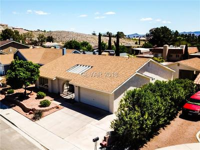 Boulder City Single Family Home Under Contract - No Show: 797 Shirley Lane