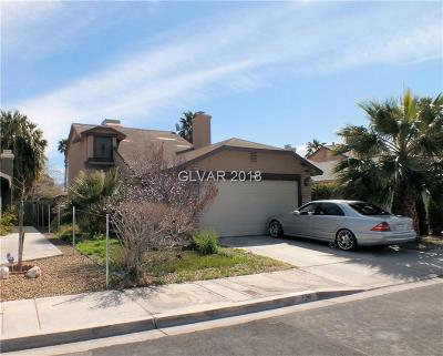 Las Vegas Single Family Home For Sale: 724 Lincoln Road