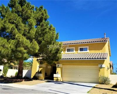 North Las Vegas Single Family Home For Sale: 5232 Intermission Court