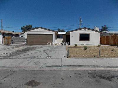 Henderson NV Single Family Home For Sale: $235,000