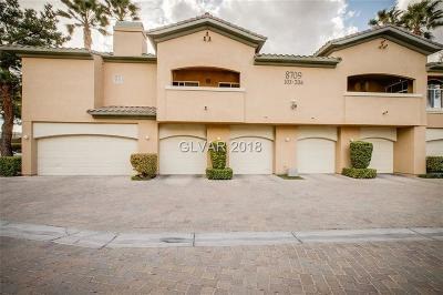 Las Vegas Condo/Townhouse For Sale: 8709 Red Brook Drive #201