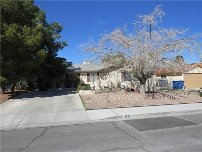 Las Vegas Single Family Home Contingent Offer: 4504 Hillcrest Avenue
