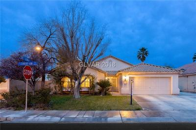North Las Vegas Single Family Home For Sale: 3540 Strawberry Roan Road