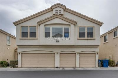 Henderson NV Condo/Townhouse For Sale: $161,000