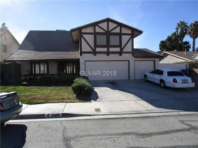Clark County Single Family Home For Sale: 4329 Goya Street