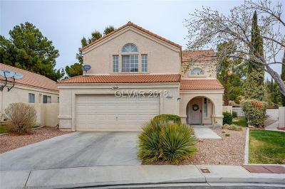 Las Vegas Single Family Home For Sale: 9004 Cypress Point Way