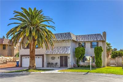 Las Vegas Single Family Home For Sale: 4430 Campus Circle