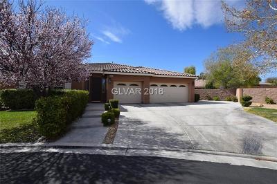 Las Vegas Single Family Home For Sale: 4471 Villa Toscano Court