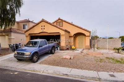 North Las Vegas Single Family Home For Sale: 4541 Switchback Street