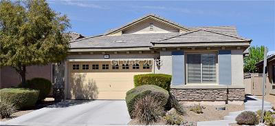 North Las Vegas Single Family Home For Sale: 3616 Rocklin Peak Avenue