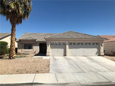 North Las Vegas Single Family Home For Sale: 5216 Coleman Street