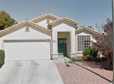 North Las Vegas Single Family Home For Sale: 2308 Little Italy Avenue