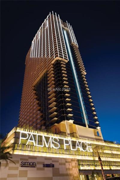 Palms Place A Resort Condo & S High Rise For Sale: 4381 Flamingo Road #30301