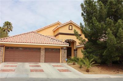 Las Vegas Single Family Home For Sale: 9664 Diablo Drive