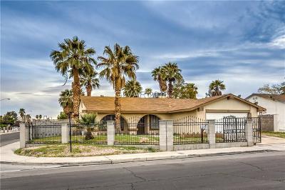 Las Vegas Single Family Home For Sale: 5095 Palmyra Avenue
