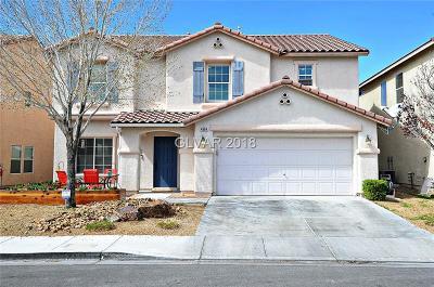 Las Vegas Single Family Home For Sale: 4904 Naff Ridge Drive