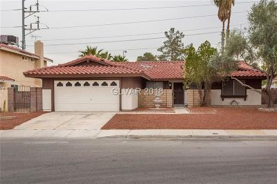 Las Vegas Single Family Home For Sale: 5220 Chela Drive