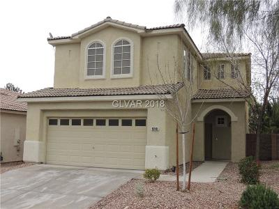Las Vegas Single Family Home For Sale: 10748 Moroccan Court