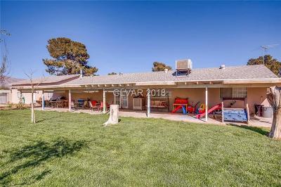 Las Vegas Single Family Home For Sale: 7135 Maverick Street