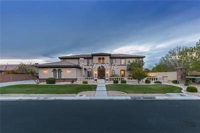 Las Vegas NV Single Family Home For Sale: $896,000