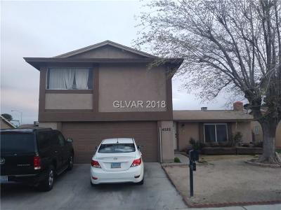 Las Vegas Single Family Home For Sale: 4525 Skyview Drive