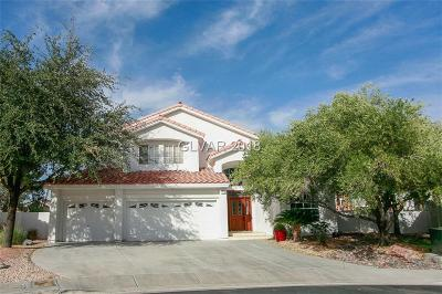 Henderson Single Family Home For Sale: 178 Palta Court