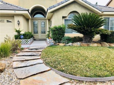 Blue Diamond, Boulder City, Henderson, Las Vegas, North Las Vegas, Pahrump Single Family Home For Sale: 4734 Rancho Camino Court