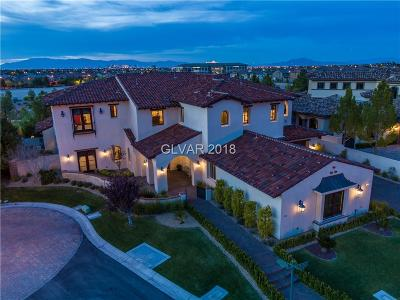 Las Vegas Single Family Home For Sale: 15 Quintessa Circle