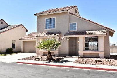 Las Vegas Single Family Home For Sale: 2811 Sesame Drive
