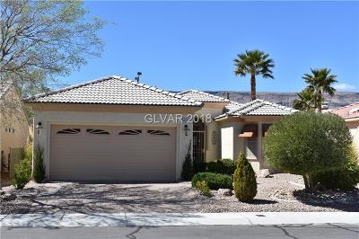 Boulder City, Henderson, Las Vegas, North Las Vegas Single Family Home For Sale: 4385 Bella Cascada Street