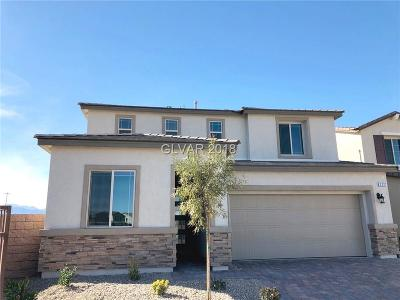 North Las Vegas Single Family Home Under Contract - No Show: 3221 Rosenberg Way
