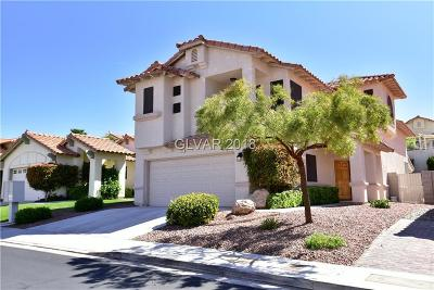 Boulder City Single Family Home Contingent Offer: 111 Sea Breeze Lane