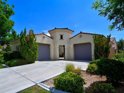 Las Vegas NV Single Family Home Sold: $560,000
