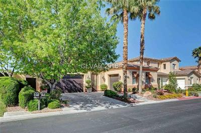 Red Rock Cntry Club At Summerl Single Family Home For Sale: 11342 Winter Cottage Place