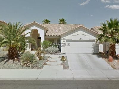Las Vegas Single Family Home For Sale: 7404 Mine Shaft Street