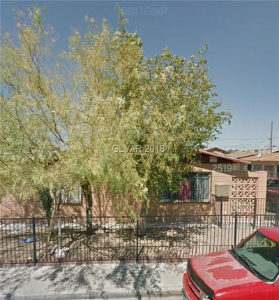 North Las Vegas Multi Family Home Under Contract - No Show: 2519 Carroll Street