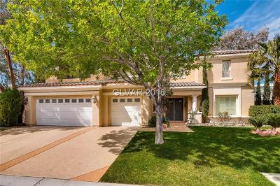 Las Vegas Single Family Home For Sale: 2635 Buckmaster Lane