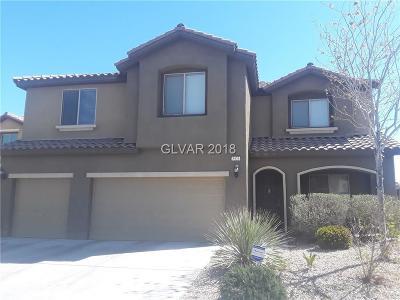 Las Vegas Single Family Home For Sale: 5526 Porcupine Rim Street