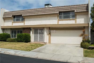 Las Vegas Condo/Townhouse For Sale: 3354 Rolan Court