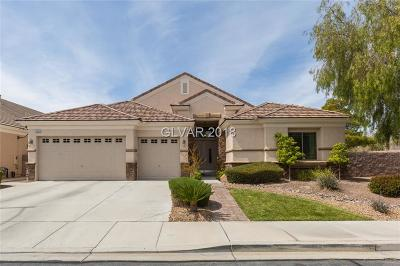 Henderson NV Single Family Home For Sale: $536,900