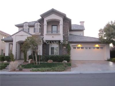 Las Vegas Single Family Home For Sale: 917 Roseberry Drive