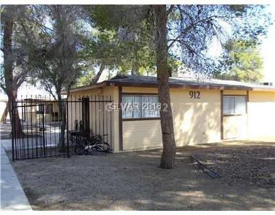 North Las Vegas Multi Family Home Contingent Offer: 912 Carey Avenue