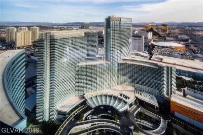 Sky Las Vegas, Veer Towers, Vdara Condo Hotel, Resort Condo At Luxury Buildin High Rise For Sale: 2600 Harmon Avenue #55019