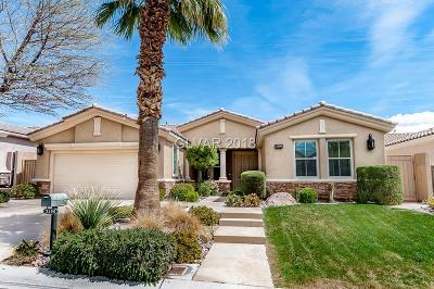Red Rock, Red Rock Cntry Club At Summerl Single Family Home For Sale: 3296 Rabbit Brush Court