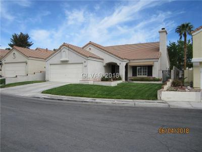 Las Vegas Single Family Home For Sale: 8808 Surf View Drive